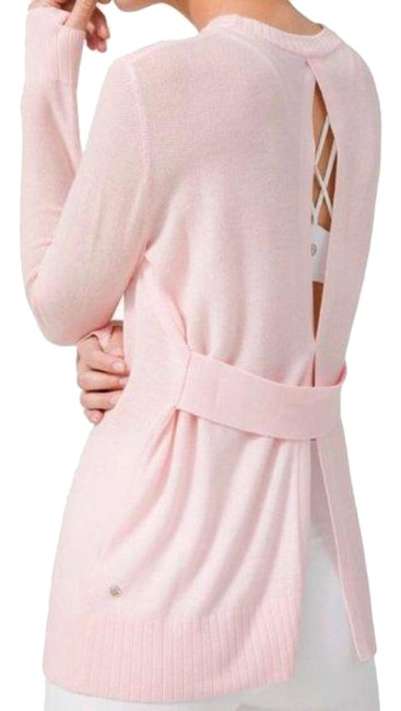 Item - Pink Sincerely Yours Sweater Glow Activewear Top Size 8 (M)