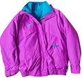 Columbia Sportswear Company Pink Whirlibird Vintage Convertible Jacket Coat Size 6 (S) Columbia Sportswear Company Pink Whirlibird Vintage Convertible Jacket Coat Size 6 (S) Image 1