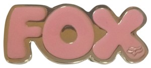 Fox Girls Pink Fox Belt Buckle