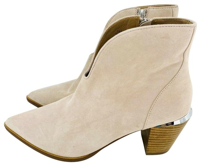 Item - Pink Westly Light Suede Leather Ankle Boots/Booties Size US 6.5 Regular (M, B)