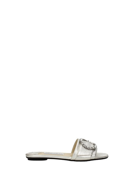 Item - Silver Slippers and Granger Women Leather Mules/Slides Size EU 39 (Approx. US 9) Regular (M, B)
