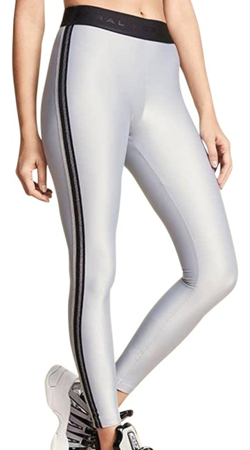 Item - Gray Energy Rhys Shimmer Mid Rise Womens Small Activewear Bottoms Size 4 (S, 27)