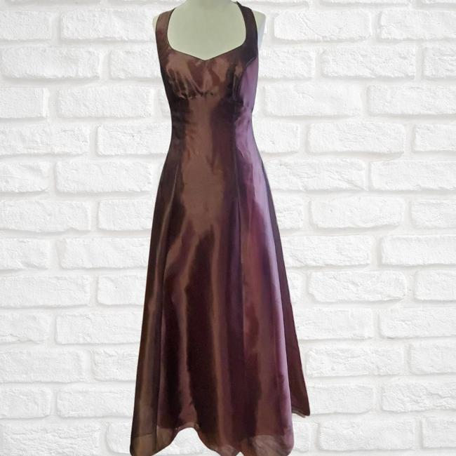 Item - Brown Gown Formal Dress Size 8 (M)