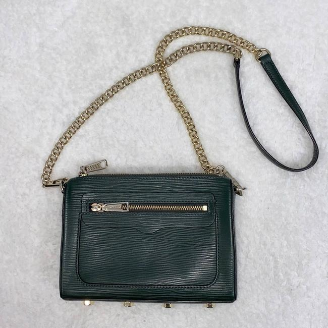 Item - Forest Avery Green Leather Cross Body Bag