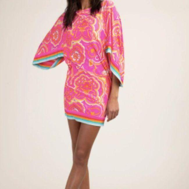 Item - Pink Sunrise 25th Anniversary Morning Cover-up/Sarong Size 2 (XS)