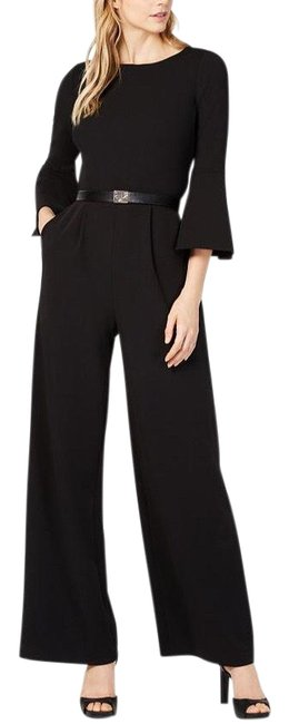 Item - Black Bell Sleeve Romper/Jumpsuit