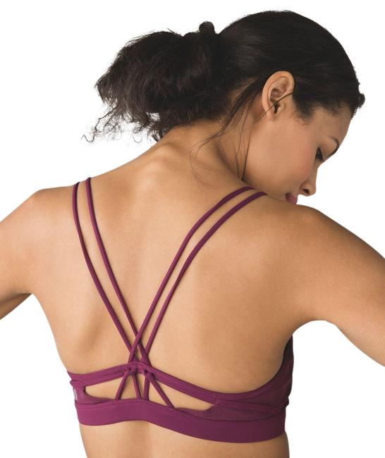Item - Red Grape Make A Move Activewear Sports Bra Size 8 (M)