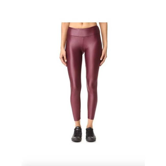 Item - Pink Mauve Shiny Workout Womens Small Activewear Bottoms Size 4 (S, 27)