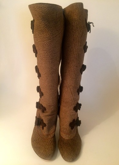 Borbonese Multi Brown Boots
