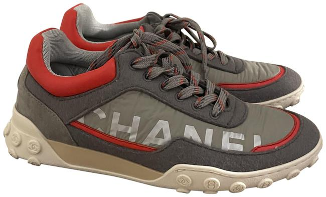 Item - Gray Trainers Sneakers Size EU 37 (Approx. US 7) Regular (M, B)