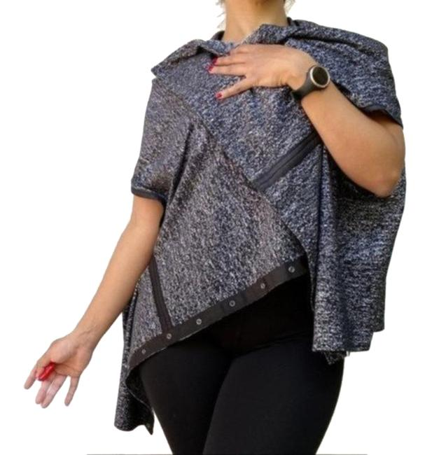 Item - Gray Multi-use Shawl Scarf Large Wrap Activewear Outerwear Size OS (one size)