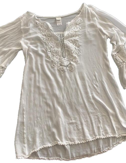 Item - White Breakaway Cover-up/Sarong Size 8 (M)