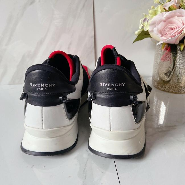 Givenchy Black Red Womens Runner Elastic Leather Logo Sneaker 41 Athletic Size US 11 Regular (M, B) Givenchy Black Red Womens Runner Elastic Leather Logo Sneaker 41 Athletic Size US 11 Regular (M, B) Image 5