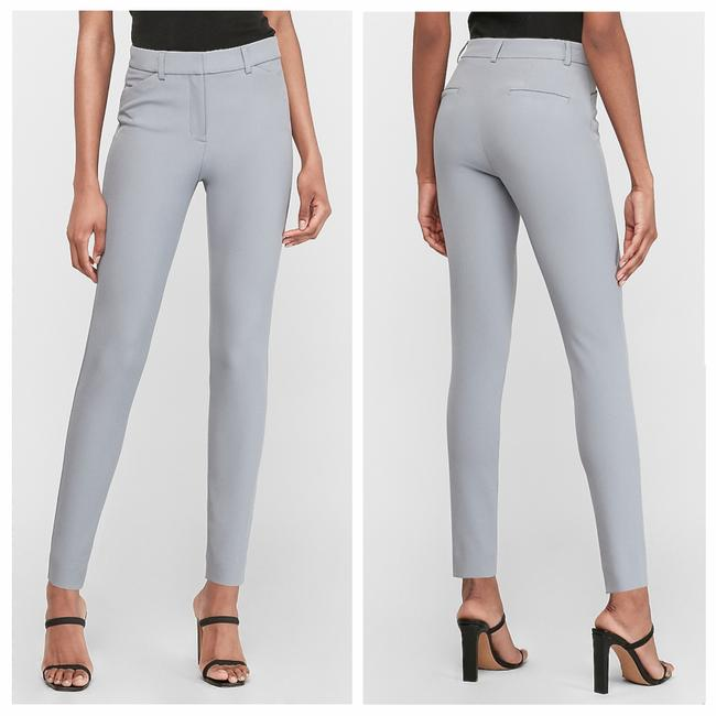 Item - Gray New High Waisted Supersoft Twill Stretch Ankle Pants Size 4 (S, 27)