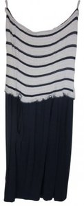 Guess short dress Navy Blue and White on Tradesy