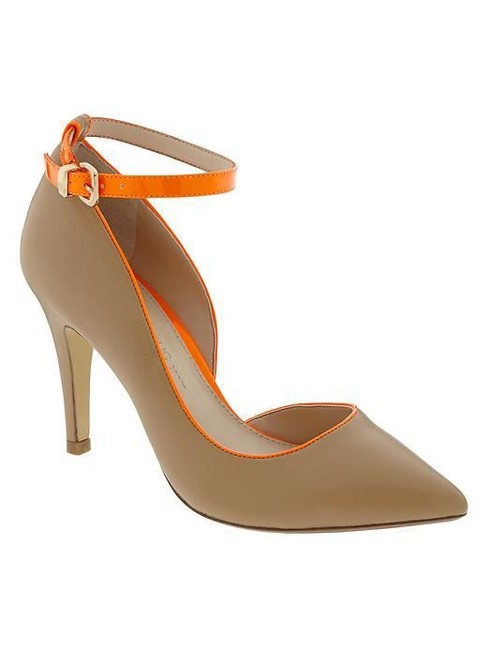 Item - Natural and Orange New Lucie Pumps Size US 10 Regular (M, B)
