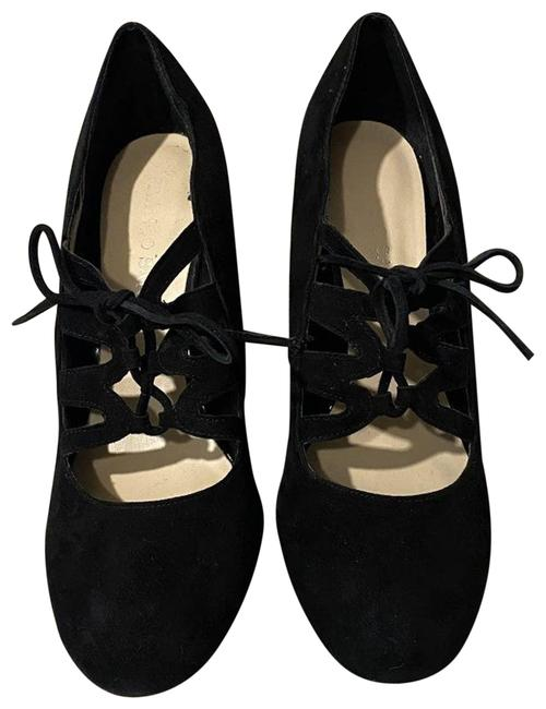 Item - Suede Lace Up Booties Wedges Size US 9 Regular (M, B)