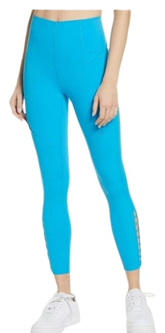 Item - Blue Boutique Dri-fit Bungee Detail High Training Tights Activewear Bottoms Size 16 (XL, Plus 0x)