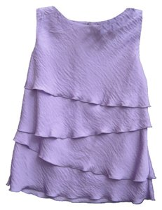 Laundry by Shelli Segal Dressy Lilac Top lilly