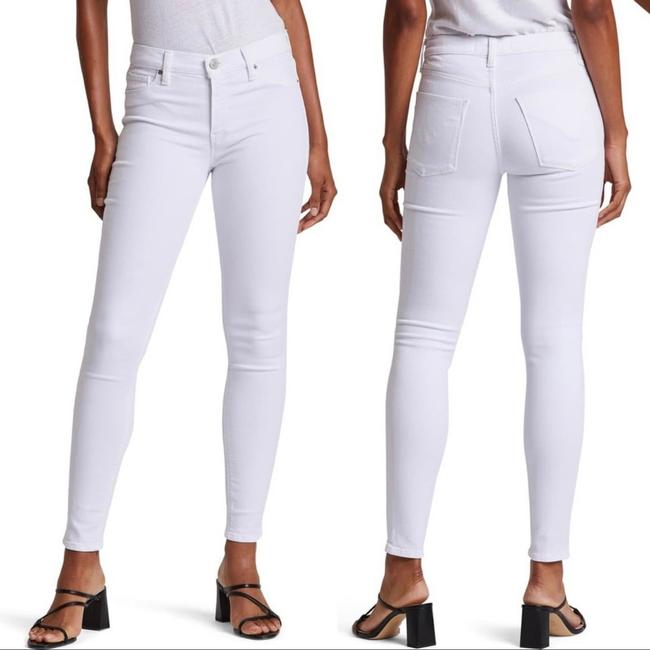 Item - White Light Wash Wm298dp2 Nico Cigarette Skinny Jeans Size 4 (S, 27)
