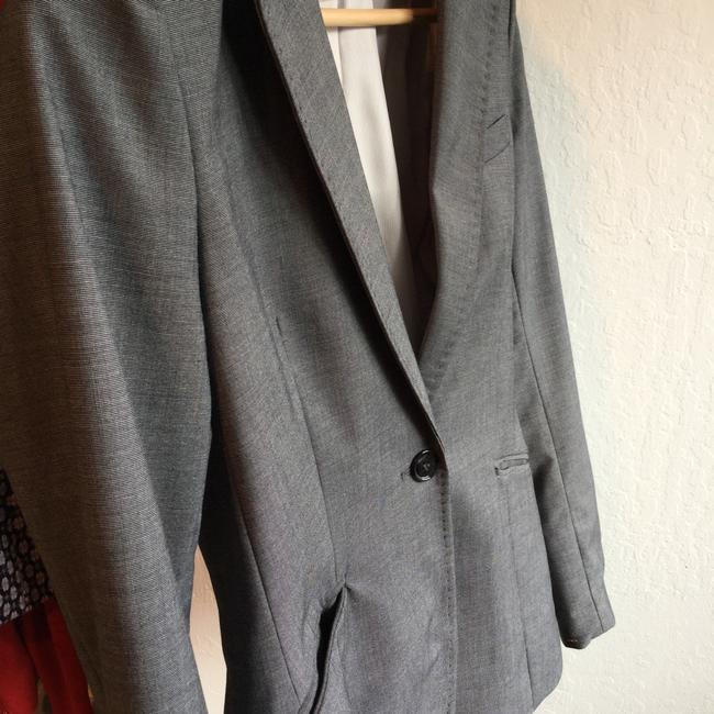 H&M Business Jean Casual Sport Gray Jacket Image 3