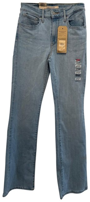 Item - Light Wash 725 High Rise Boot Cut Jeans Size 4 (S, 27)