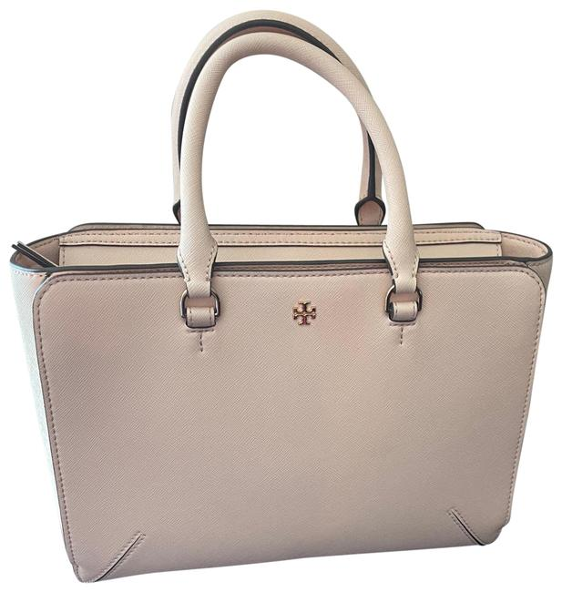 Item - Robinson Small Zip Pale Apricot Leather Tote