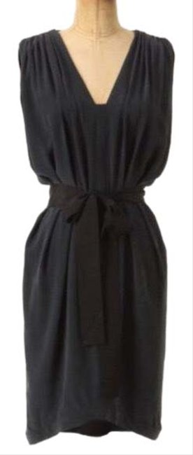 Item - Gray Laurel Adelaide Tie Waist Silk Mid-length Night Out Dress Size 2 (XS)