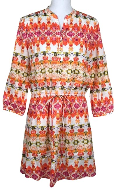 Item - Colorful Short Casual Dress Size 6 (S)