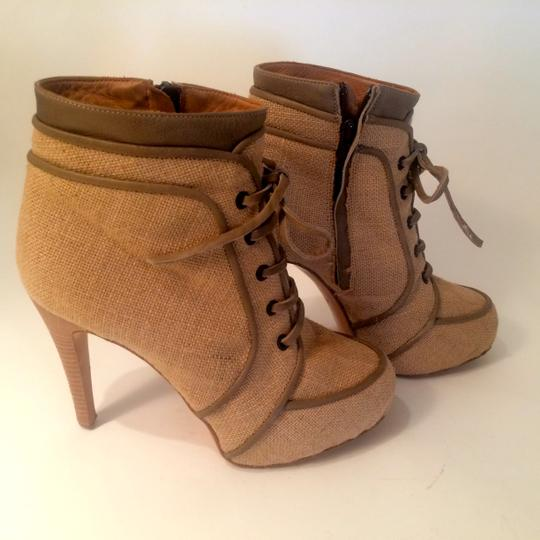 Barneys New York Ivory Boots