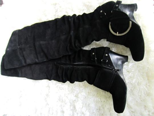 Naughty Monkey black suede Boots