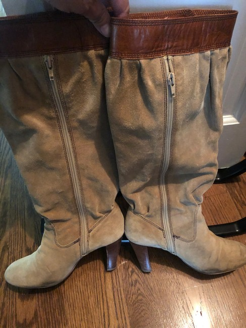 Michael Kors Tan Slouch Boots/Booties Size US 7.5 Regular (M, B) Michael Kors Tan Slouch Boots/Booties Size US 7.5 Regular (M, B) Image 7