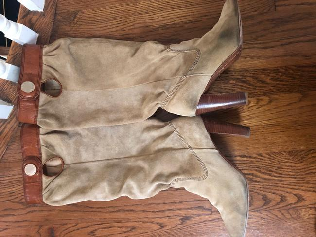 Michael Kors Tan Slouch Boots/Booties Size US 7.5 Regular (M, B) Michael Kors Tan Slouch Boots/Booties Size US 7.5 Regular (M, B) Image 10