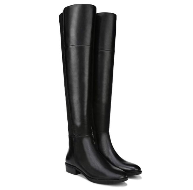 Item - Black Pam Leather Over The Knee Boots/Booties Size US 5 Regular (M, B)