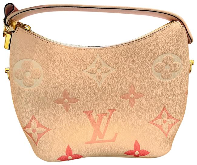 Item - Marshmallow Rosebud By The Pool Pink Empreinte Leather Hobo Bag