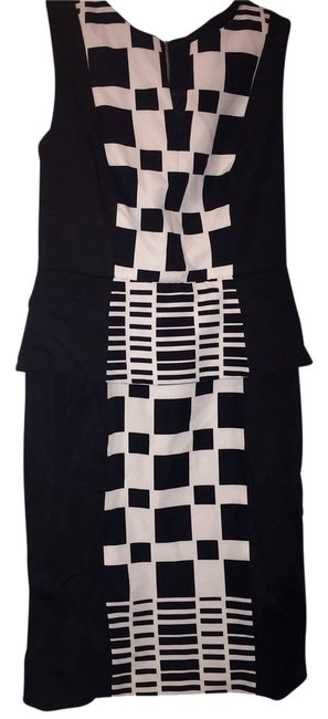 Preload https://item2.tradesy.com/images/muse-dress-black-and-white-2913286-0-0.jpg?width=400&height=650