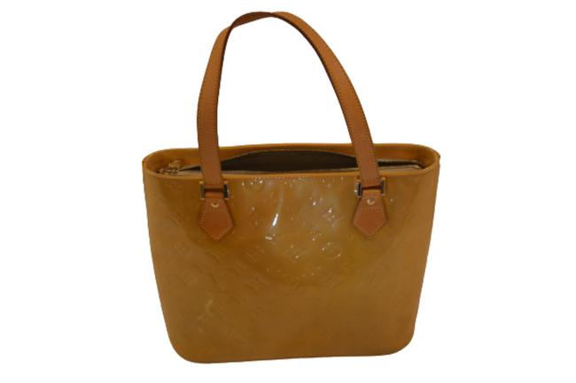 Item - Houston Gold/Yellow Lv Monogram Vernis and Leather Tote