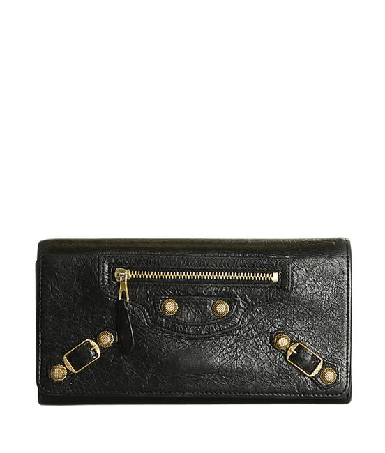 Item - Black Giant 12 Leather Snap Wallet (196837) Sunglasses