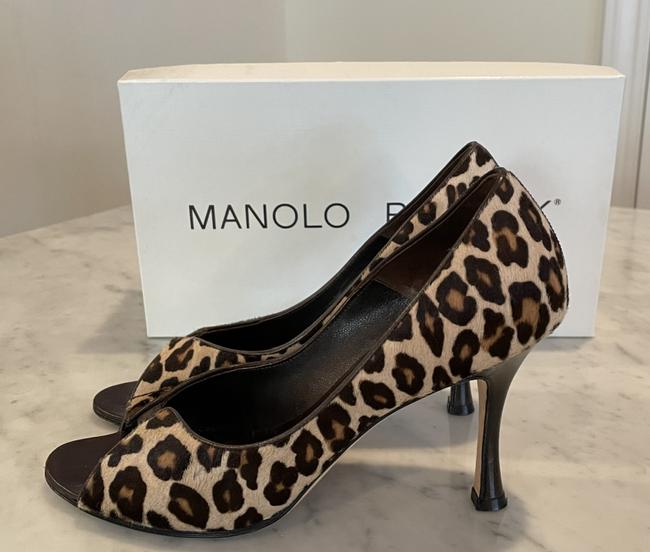 Item - Brown/Cheetah Arsenia Pumps Size EU 37 (Approx. US 7) Regular (M, B)