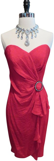 Item - Red Bb Collections Mid-length Night Out Dress Size 8 (M)