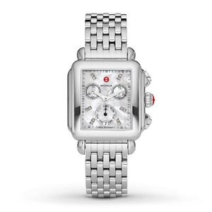 Michele Deco Stainless Mother of Pearl Diamond Mww06p000014