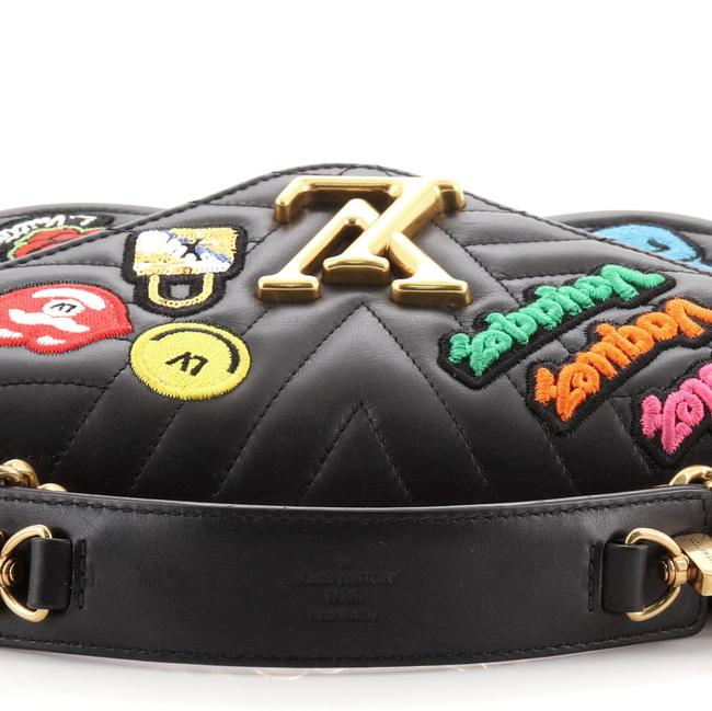 Louis Vuitton New Wave Chain Limited Edition Patches Quilted Mm Black Multicolor Leather Cross Body Bag Louis Vuitton New Wave Chain Limited Edition Patches Quilted Mm Black Multicolor Leather Cross Body Bag Image 8