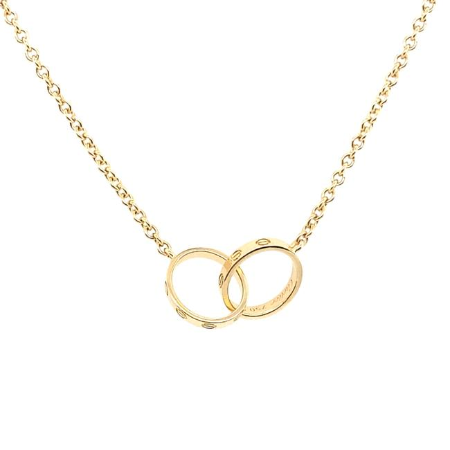 Item - 18k Yellow Gold Love Necklace