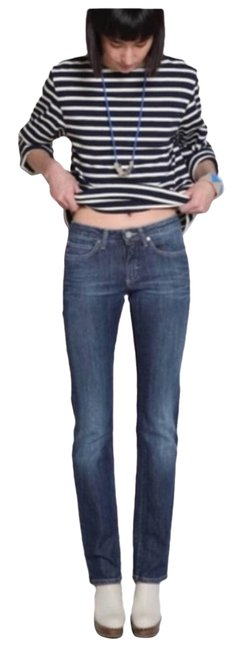 Item - Blue Distressed Hex Pure 26/32 Skinny Jeans Size 26 (2, XS)