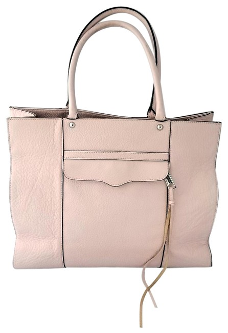 Item - Mab Large Soft Pink Leather Tote
