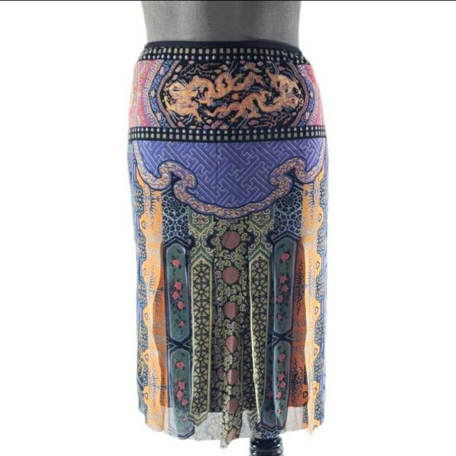 Item - Multicolored Car Wash Panel Skirt Size 0 (XS, 25)