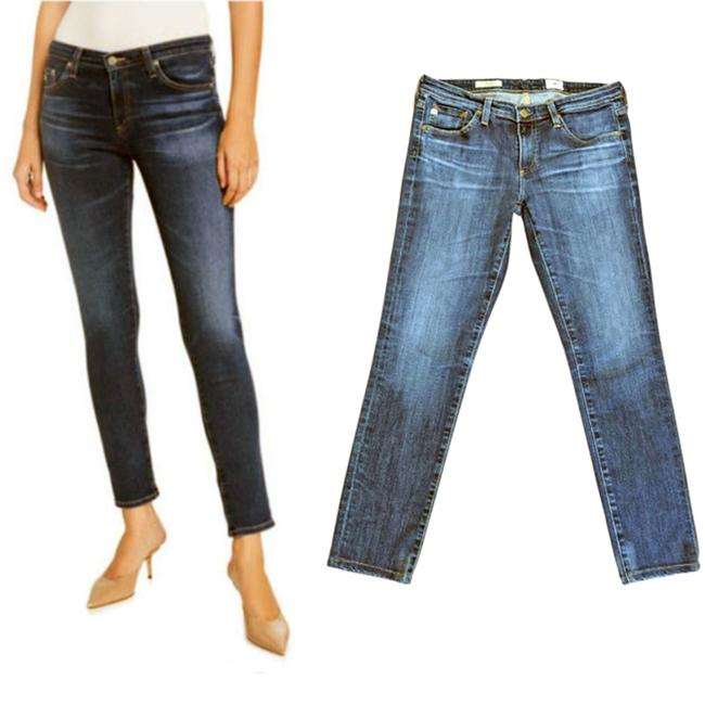 Item - Blue The Stilt Cigarette Leg Women's Skinny Jeans Size 29 (6, M)