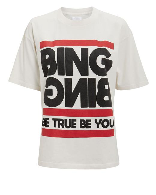 Item - White Be True Be Tee Shirt Size 4 (S)