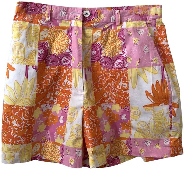 Item - Pink Patchwork Shorts Size 4 (S, 27)