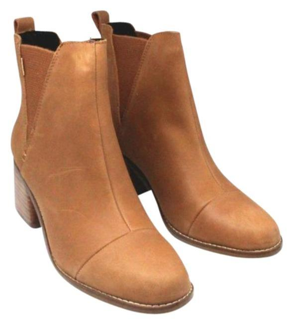 Item - Tan Women's Leather Esme Boots/Booties Size US 8 Regular (M, B)